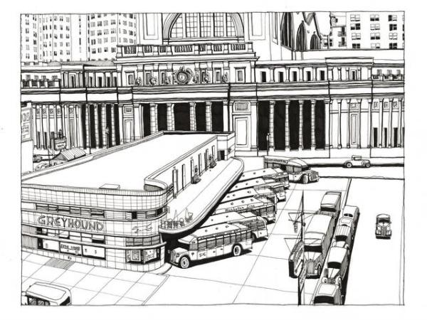 New York Bus Terminal